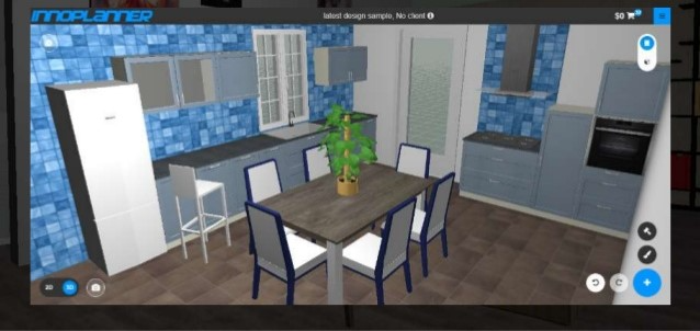 InnoPlanner 3D visualization screenshot