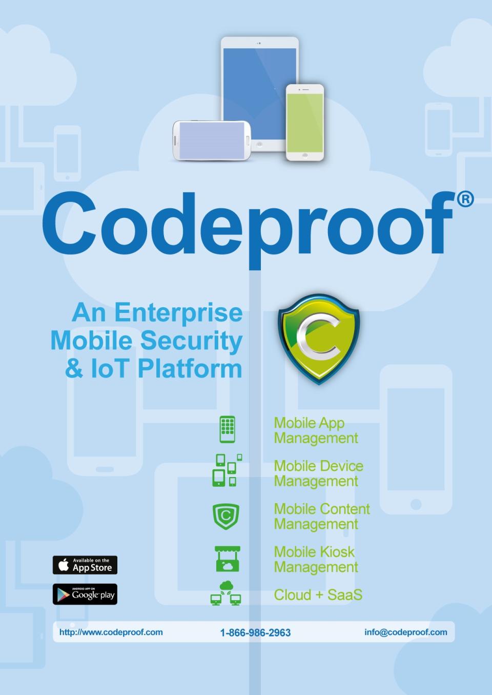 Codeproof Software - Codeproof flyer