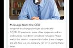 Groupe.io screenshot: Top-down Communications