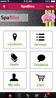 Zenoti customer mobile app