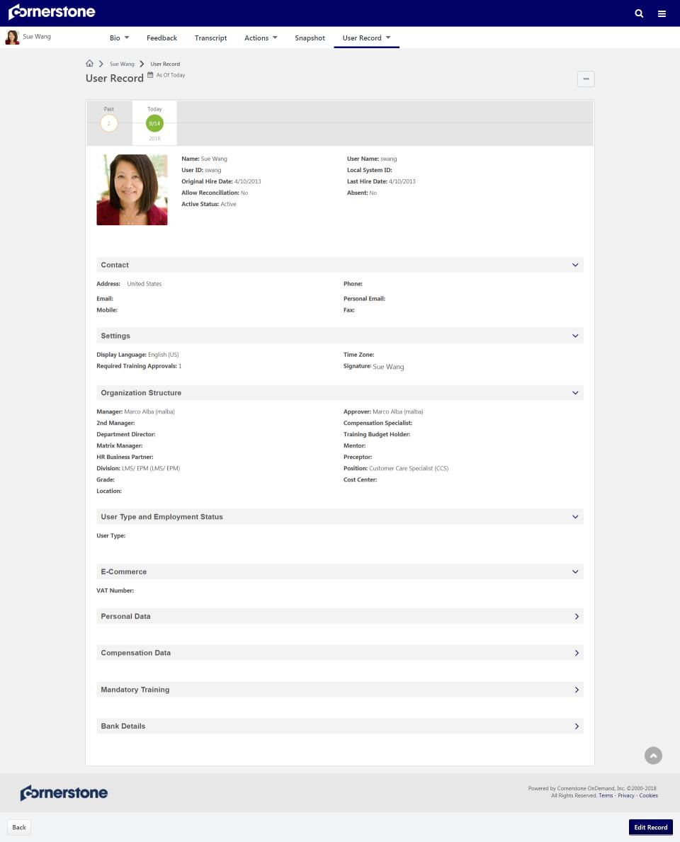 Cornerstone HR Software - 2
