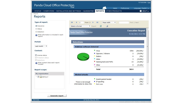 Panda Cloud Office Protection Logiciel - 3