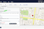 FieldInsight screenshot: The tool lets users fill in business details