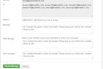 Captura de pantalla de ePACT: ePACT communication options