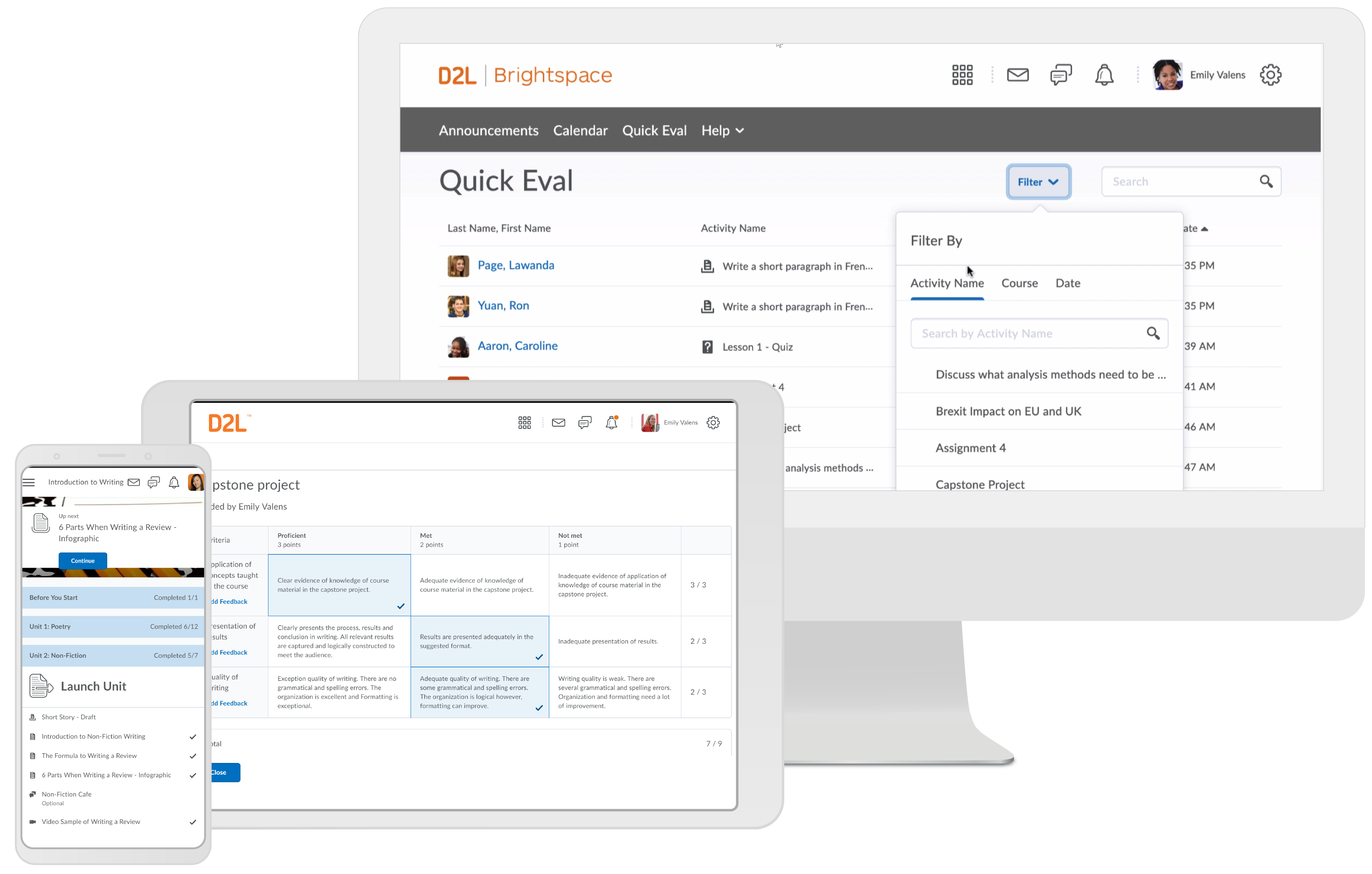 Brightspace LMS for education
