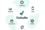 Captura de pantalla de GoAudits: Full auditing cycle, from scheduling to corrective action follow-up and performance monitoring