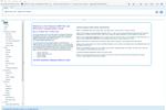 Capture d'écran pour Dynamics TMS : Dynamics TMS Main Menu Tree