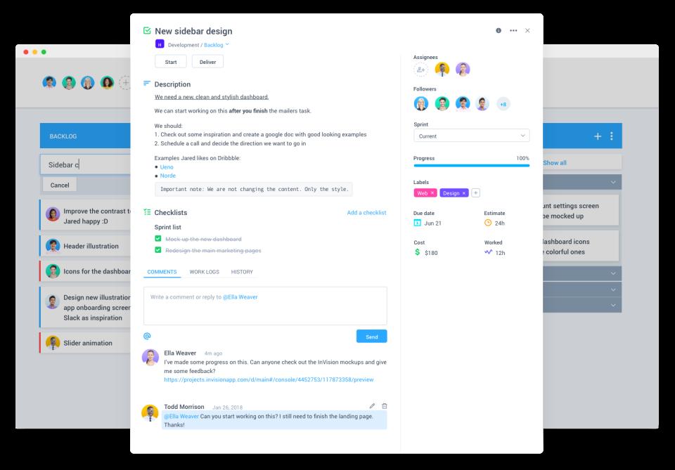 Hubstaff Tasks Software - Task view