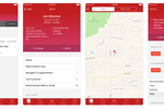 Payzerware screenshot: The Payzerware companion mobile app is available for iOS and Android devices to give technicians native connectivity from job locations out in the field
