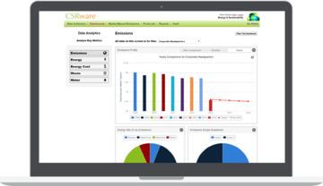 Scope 1, 2 and 3 data, analyze it and manage ISO compliance
