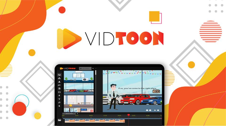 Vidtoon 2.0 Software - 3