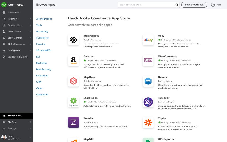 QuickBooks Commerce Software - QuickBooks Commerce add-on apps
