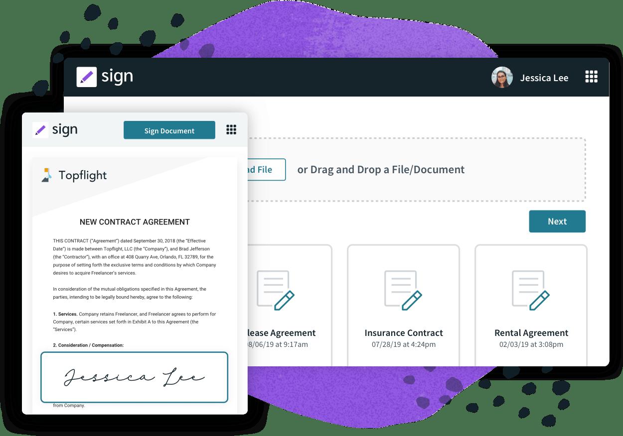 Formstack Sign Digital Documents