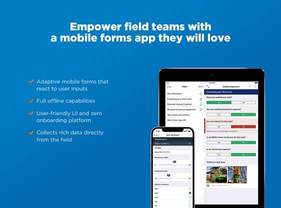 Adaptive mobile forms