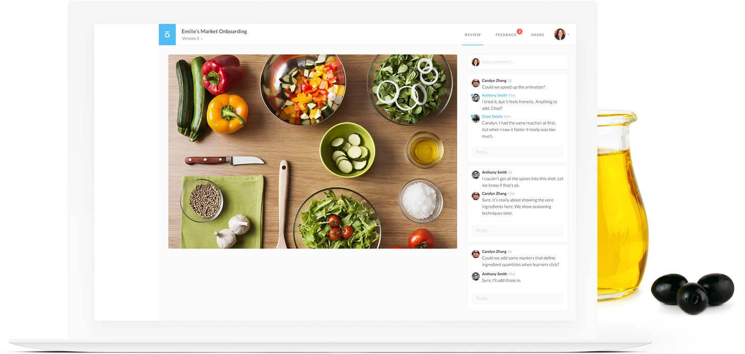 Articulate 360 Software - Storyline 360 collaboration and feeback