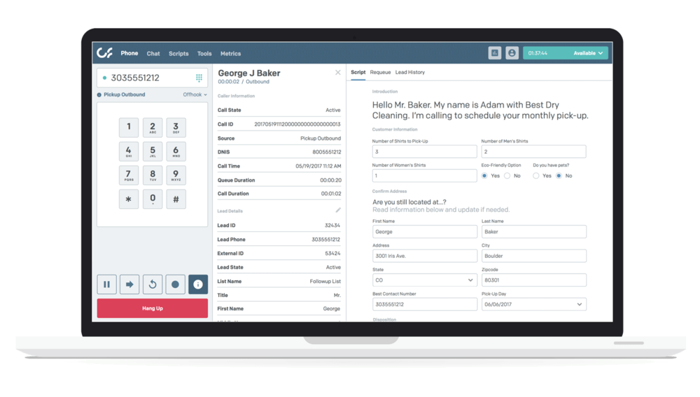 Connect First Software - Outbound dialer