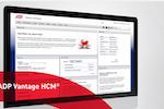 ADP Vantage HCM screenshot: ADPVantageHCM_HumanResource_Welcome