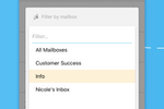 Outpost screenshot: Outpost for iPhone allows you to access all your mailboxes even on the go!