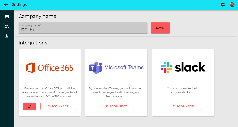 Reach set up and integrations