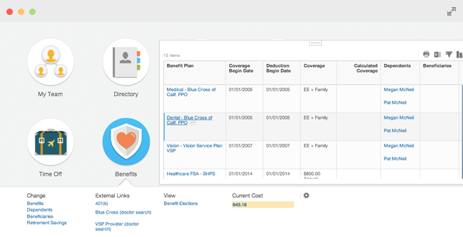 Workday Benefits Administration