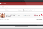 Findjoo screenshot: Members can view their membership status and history from the member portal