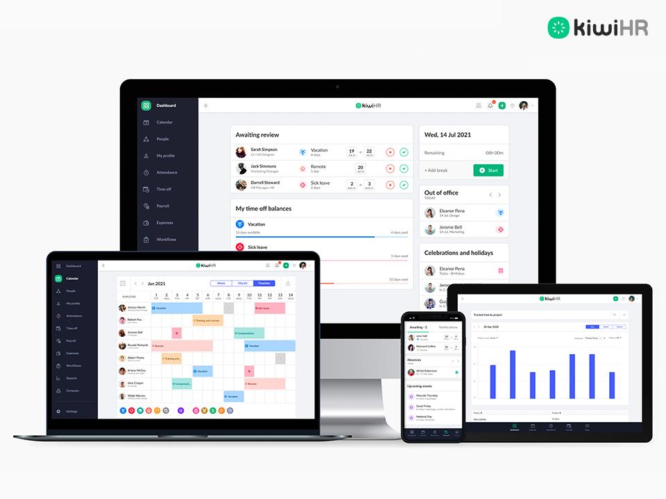 kiwiHR multidevice