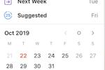 Todoist screenshot: Todoist add due dates