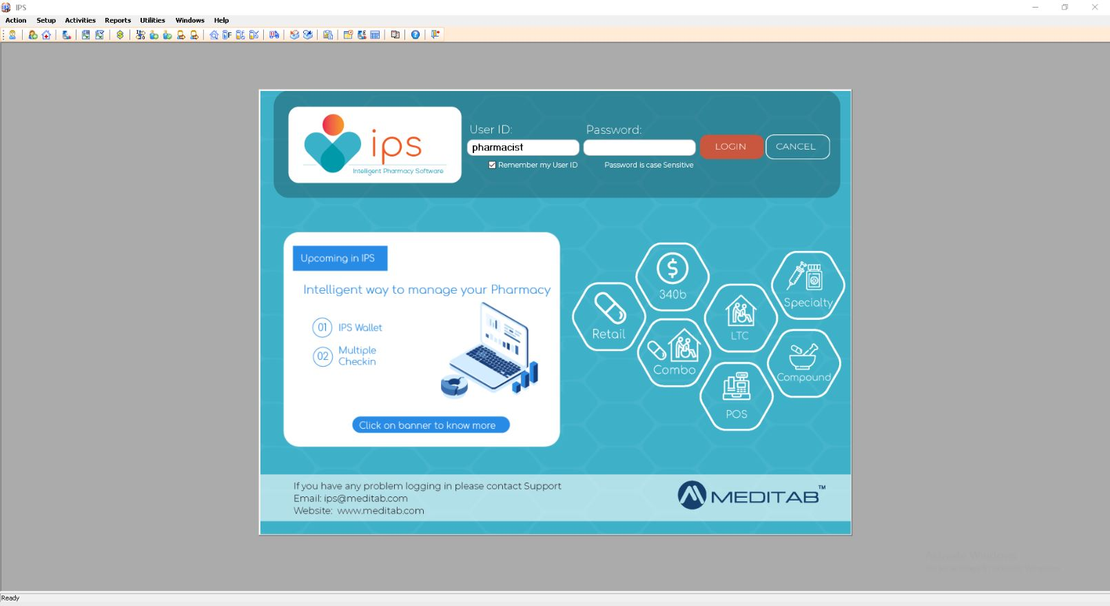 IPS is a windows based system, optimized for two-monitor workstations with role and user security parameters to customize the system to your specific workflow needs.