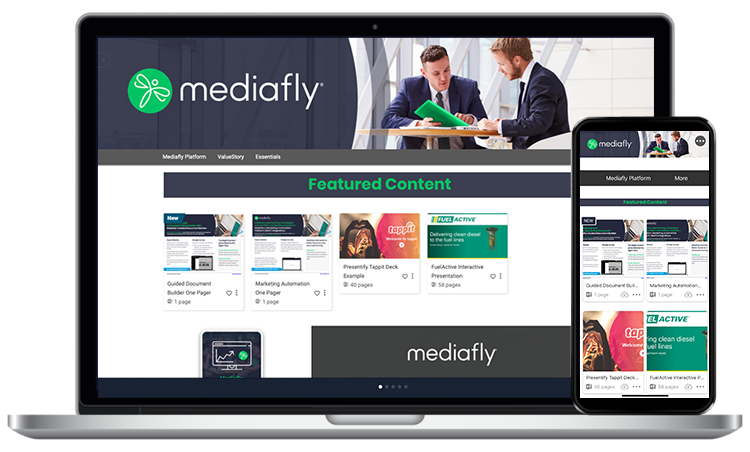 Mediafly Software - Empower commercial teams with intuitive tools to create and deliver engaging experiences, while offering in-depth analytics on content consumption
