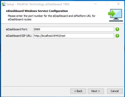 eiPlatform system configuration screenshot