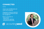Accounting Seed Screenshot: Connect to banks and many applications seamlessly.