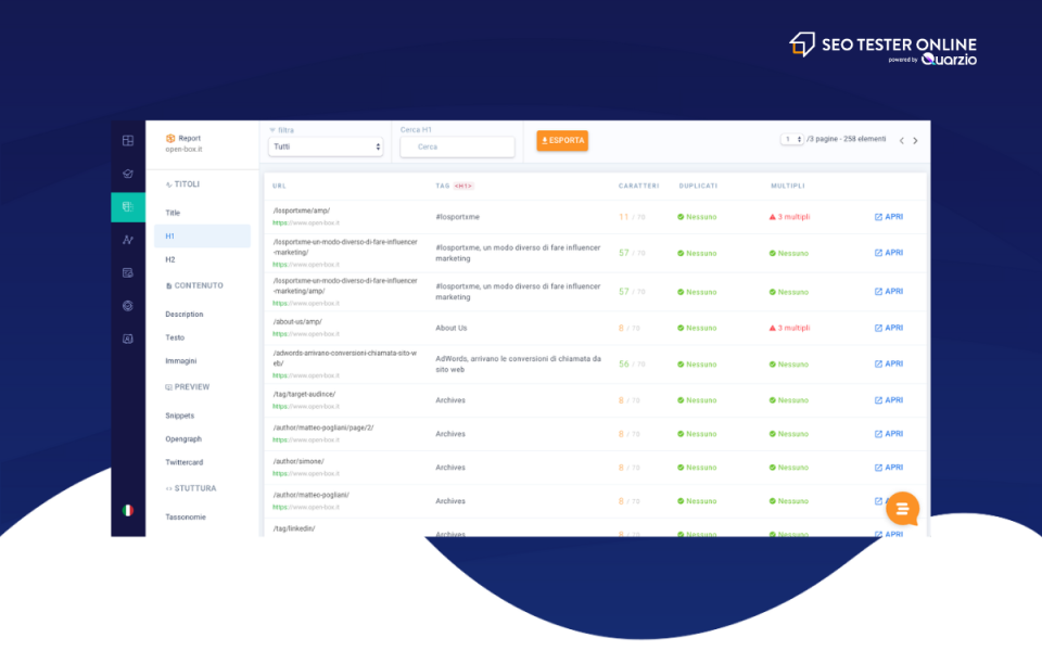 SEO Tester Online Software - 2