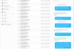 Yodel screenshot: Yodel call transcript