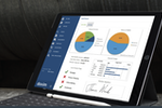 Doxim CRM+ screenshot: Doxim's financial services CRM software provides all staff with a complete view of customer information in a central source