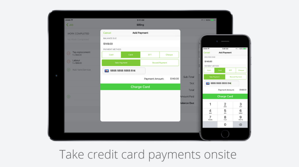 ServiceM8 Software - Accept Payments Instantly
