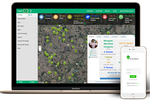 SmartFarm screenshot: The SmartFarm dashboard can be used to track output, estimated harvest, and more