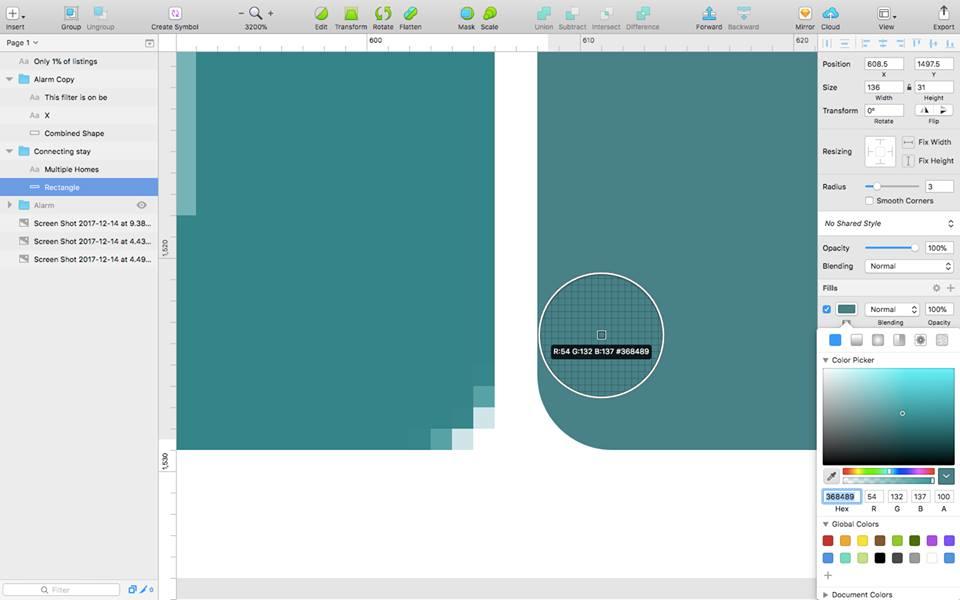 Sketch editing tools