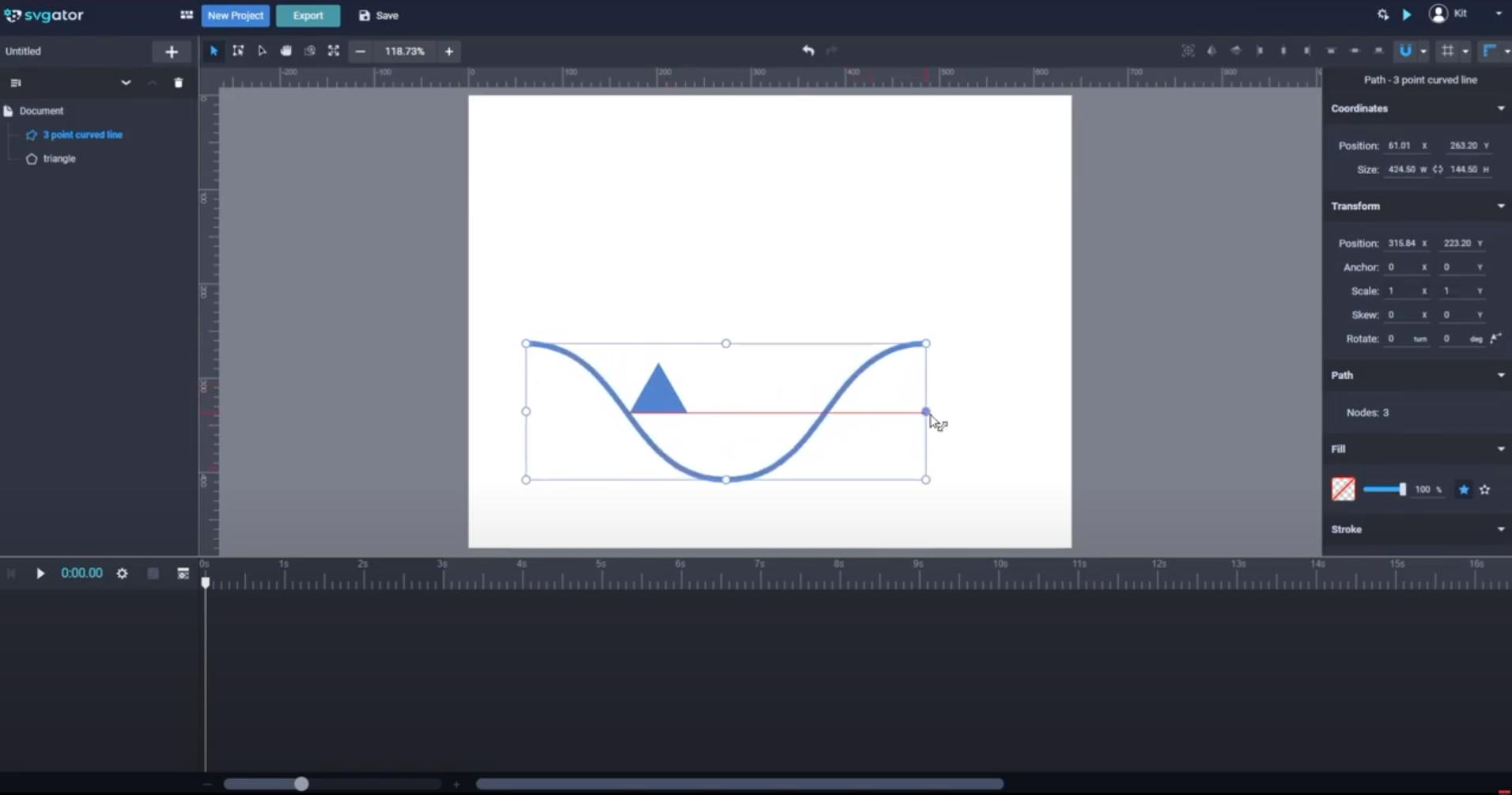 SVGator animations