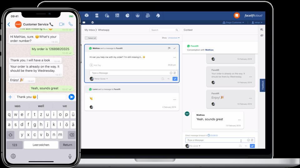 Facelift Cloud Software - Facelift Cloud customer service screenshot