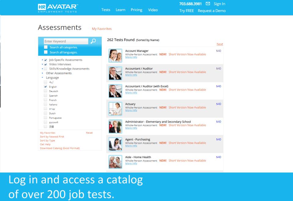 HR Avatar Software - 3