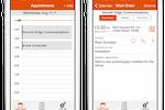 ServiceMax screenshot: ServiceMax Daily Calendar for iPhone