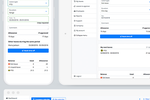 LeaveBoard screenshot: Users can book various types of leave from any device