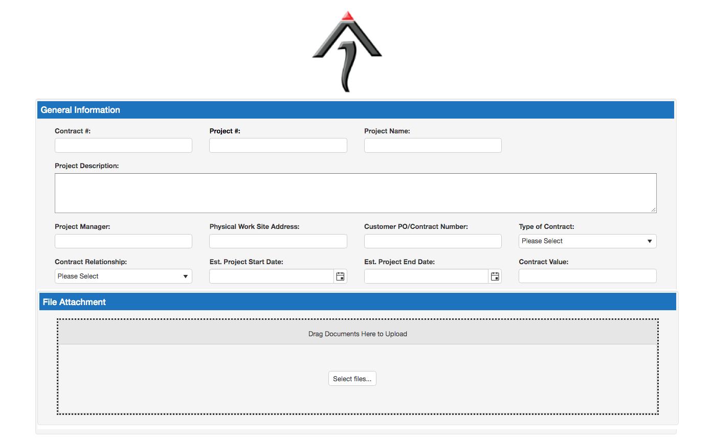Contract Request Portal