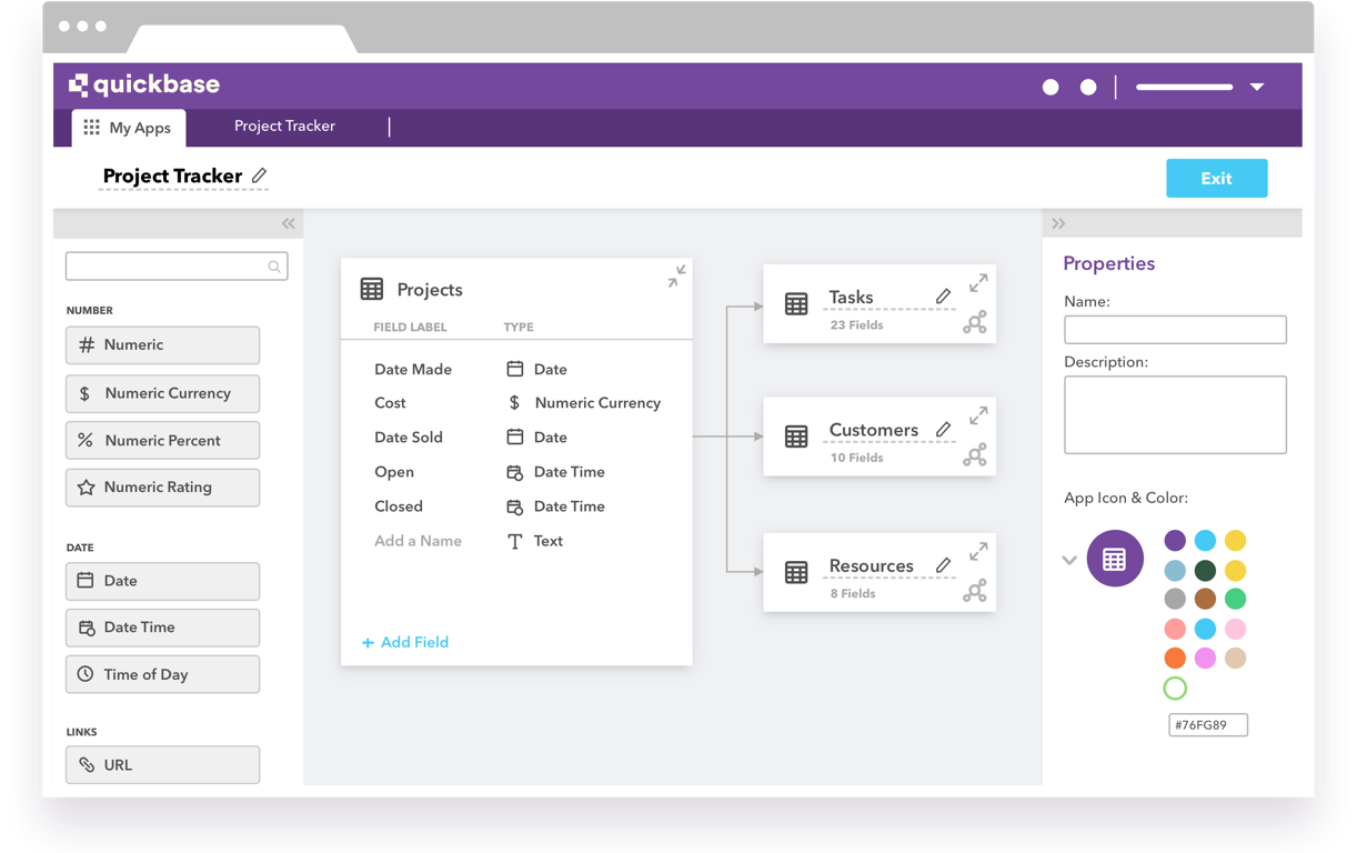 Quickbase Software - Visual Builder