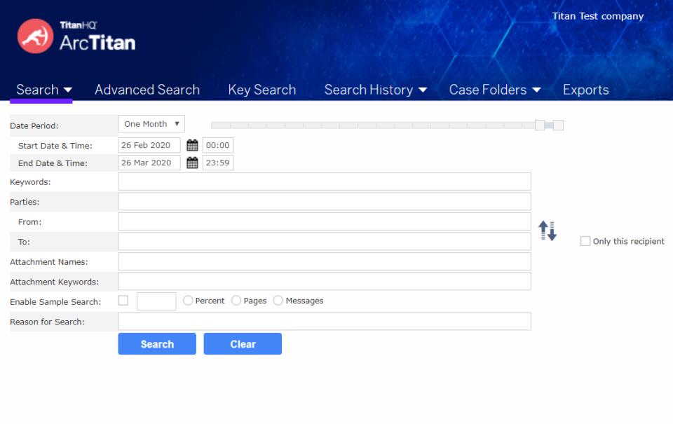 ArcTitan Email Archiving Logiciel - 2