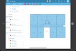 WIZZCAD screenshot: field management