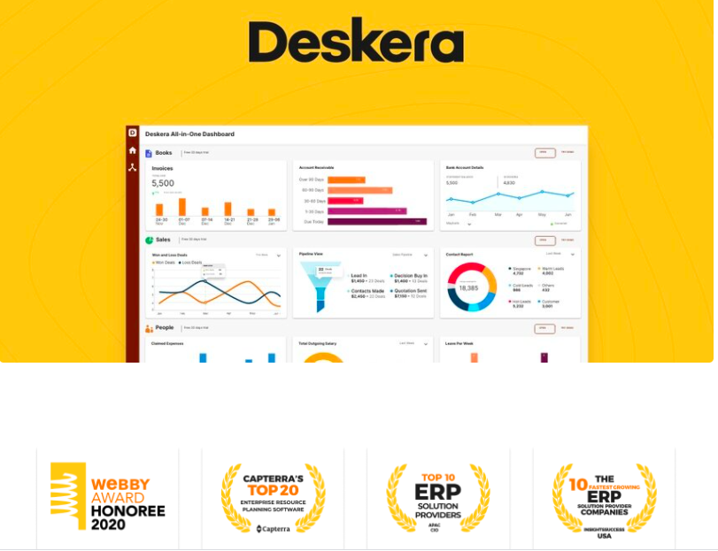 Deskera All-in-one
