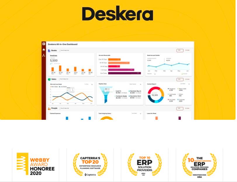 Deskera All-In-One Software - Deskera All-in-one