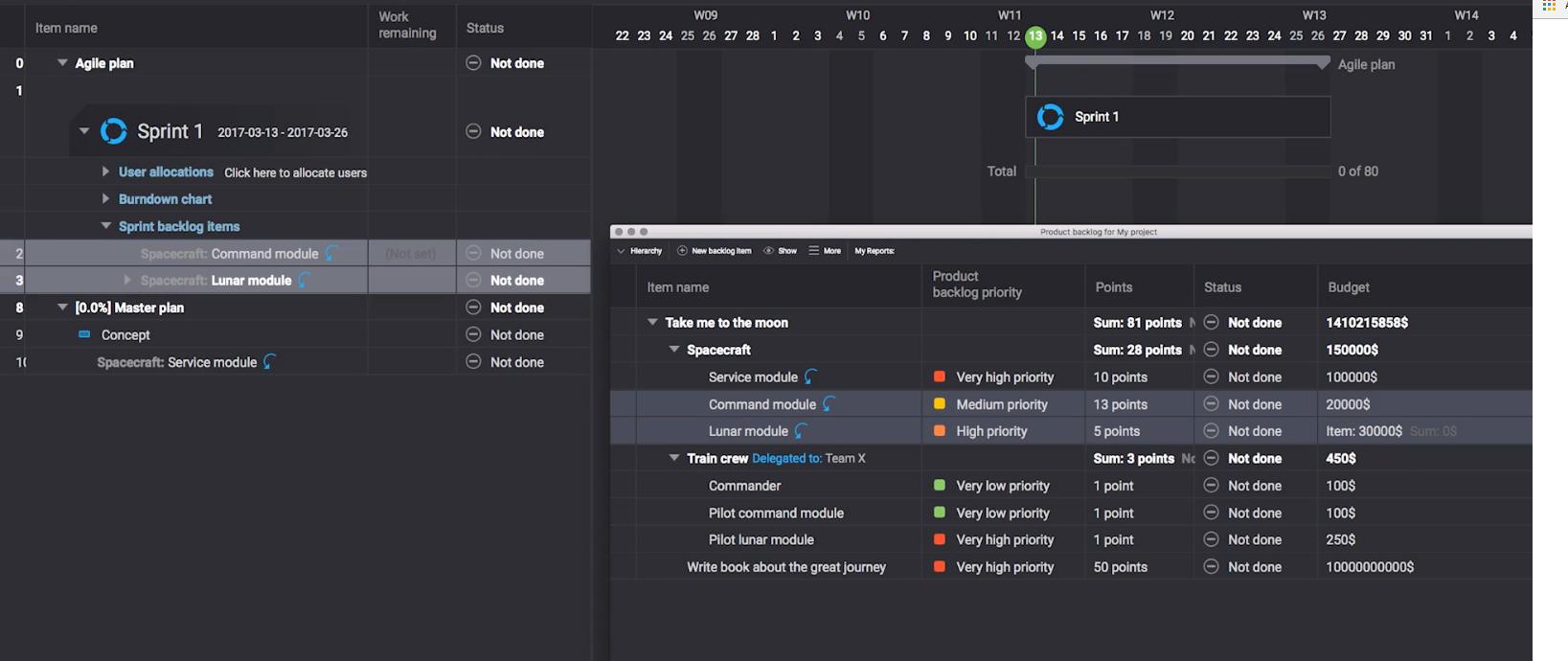Hansoft Software - Agile project management