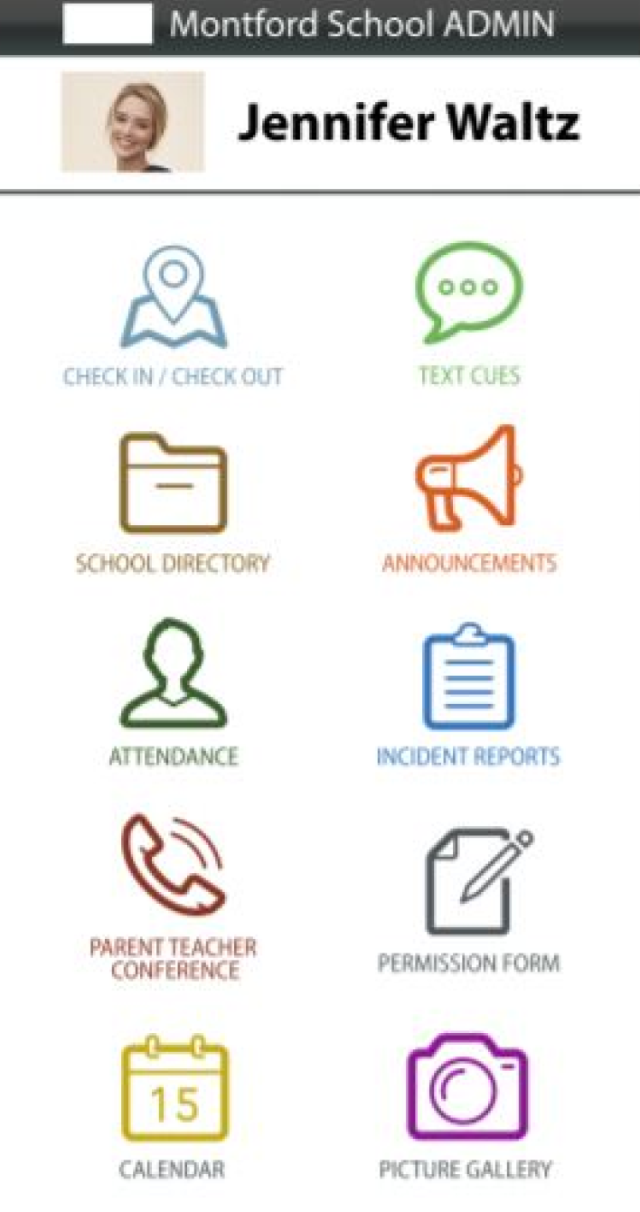 SchoolCues admin dashboard